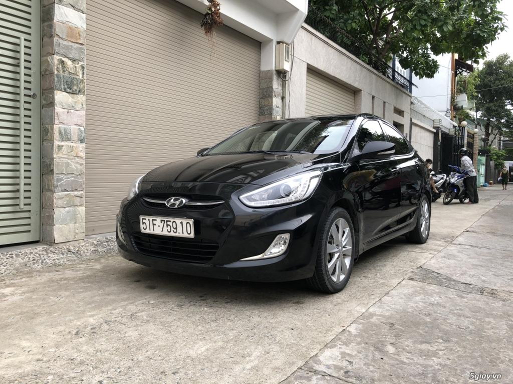 Bán Hyundai Accent Blue sản xuất 2016, nhập khẩu, số tự động, 1đời chủ - 1