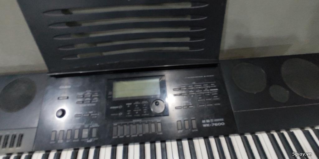 Cần bán đàn organ casino wk-7600 ít dùng - 1