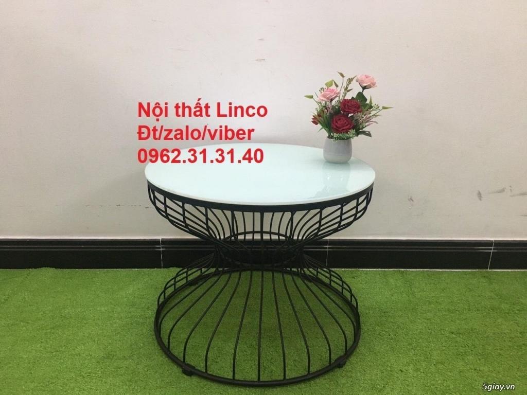 Một số bàn trà sofa phòng khách nội thất Linco quy nhơn bình định - 5