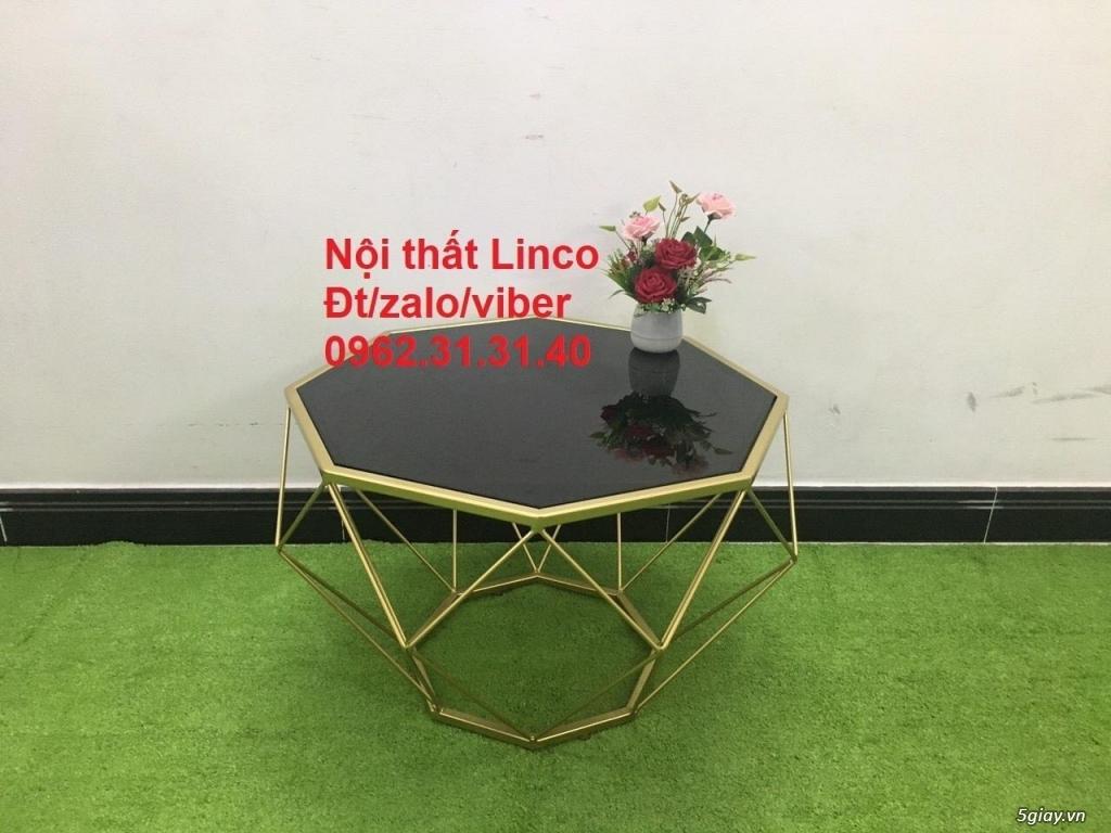Một số bàn trà sofa phòng khách nội thất Linco quy nhơn bình định