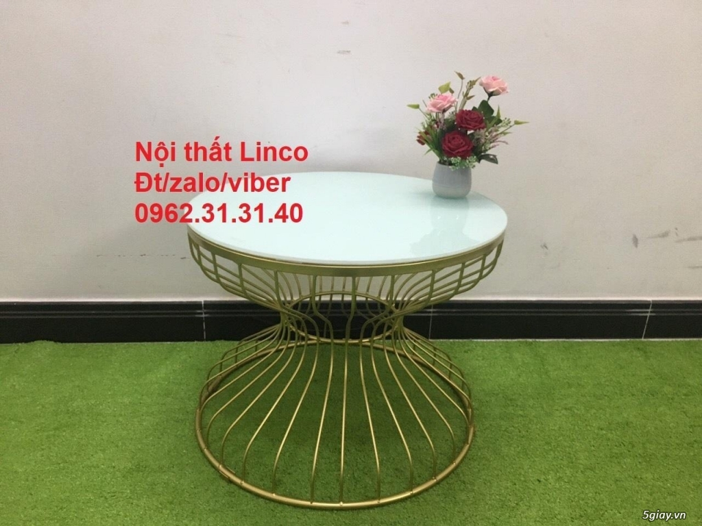 Một số bàn trà sofa phòng khách nội thất Linco quy nhơn bình định - 7