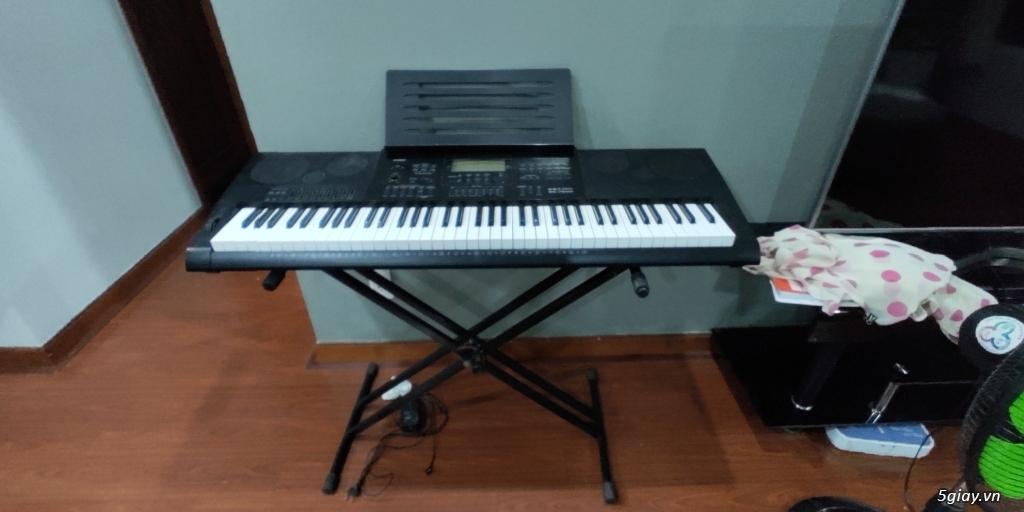 Cần bán đàn organ casino wk-7600 ít dùng - 2