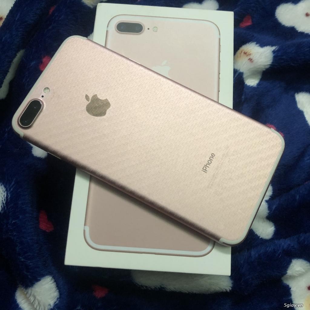 IPHONE 7 PLUS 128GB màu Rose Gold, Like new, chính chủ bán, 99%