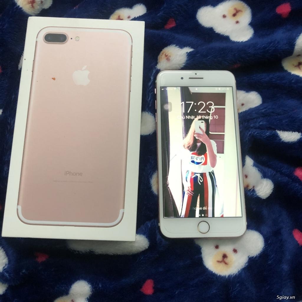 IPHONE 7 PLUS 128GB màu Rose Gold, Like new, chính chủ bán, 99% - 1