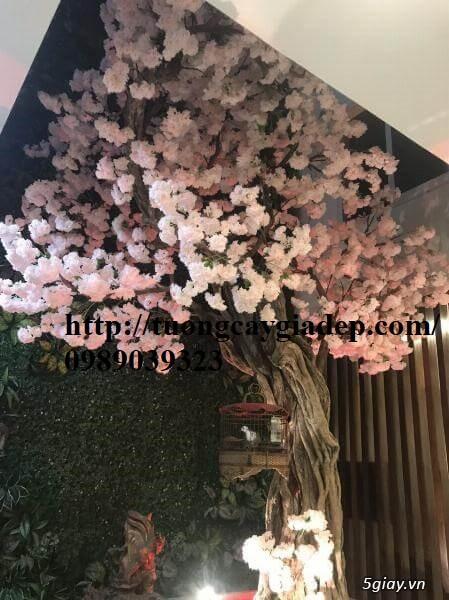 Cây hoa anh đào giả giá rẻ top1 đẹp - 3