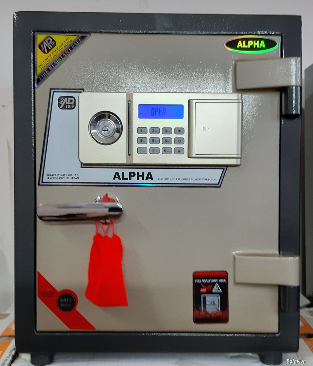 Két sắt ALPHA AL- 53E 100Kg BH 5 Năm - 1