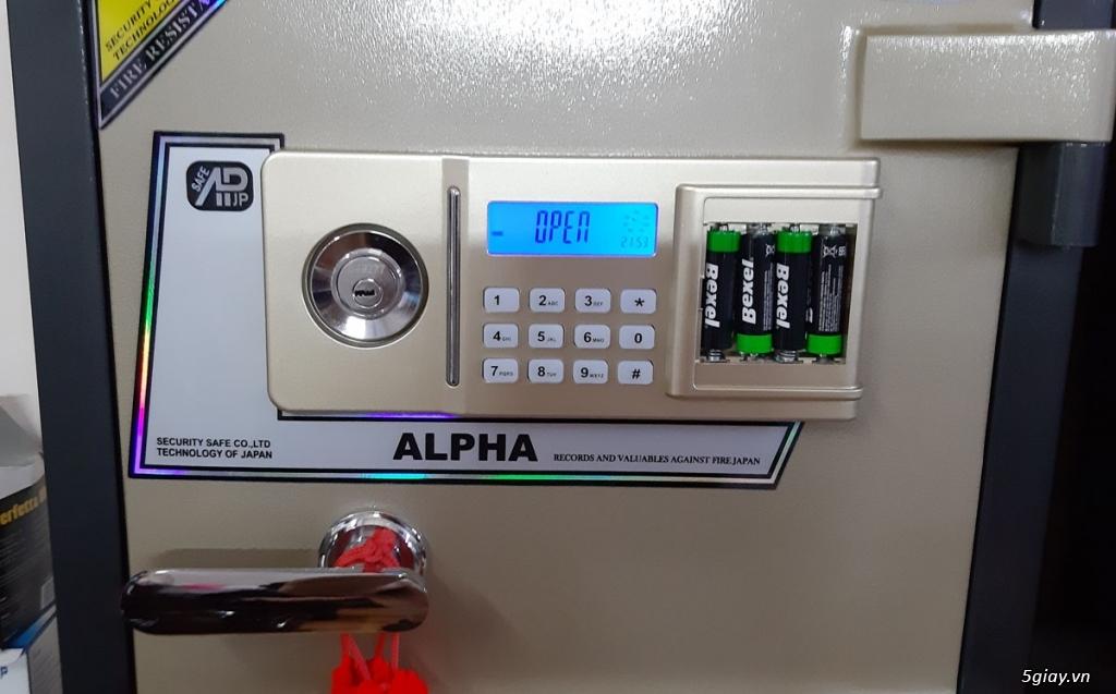 Két sắt ALPHA AL- 53E 100Kg BH 5 Năm - 5