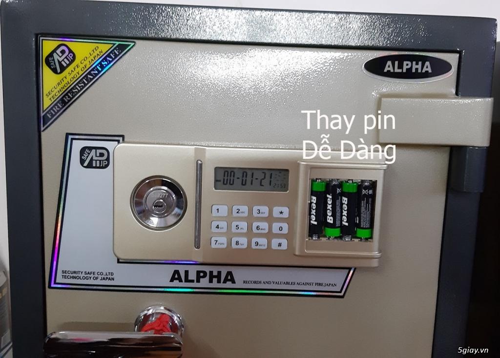 Két sắt ALPHA AL- 53E 100Kg BH 5 Năm - 4