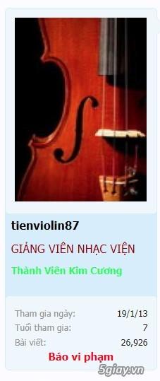 Nhận dạy đàn violin từ cơ bản đến nâng cao cho mọi người tại TPHCM - 1