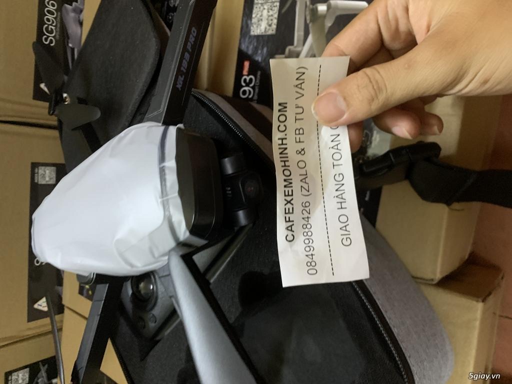 flycam sg906 pro bay 1km có gimbal camera đến 4k có tự bay về - 1