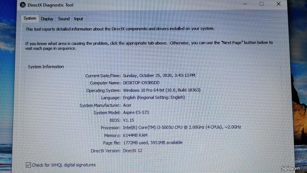 Laptop Acer dùng văn phòng, học tập tốt, rất đẹp - 4