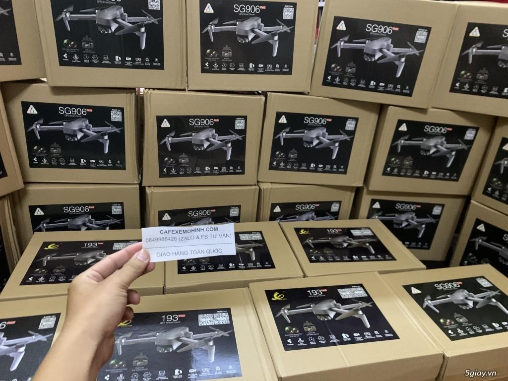flycam sg906 pro bay 1km có gimbal camera đến 4k có tự bay về - 3