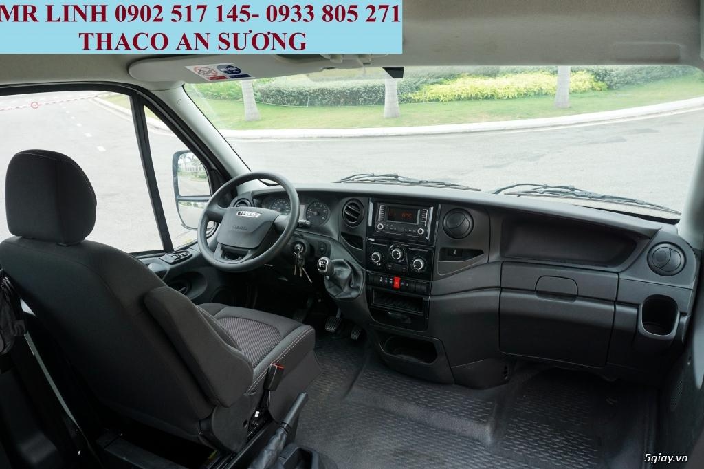 Xe 16 chổ iveco - xe 19 chổ iveco bầu hơi cửa  bung - 5
