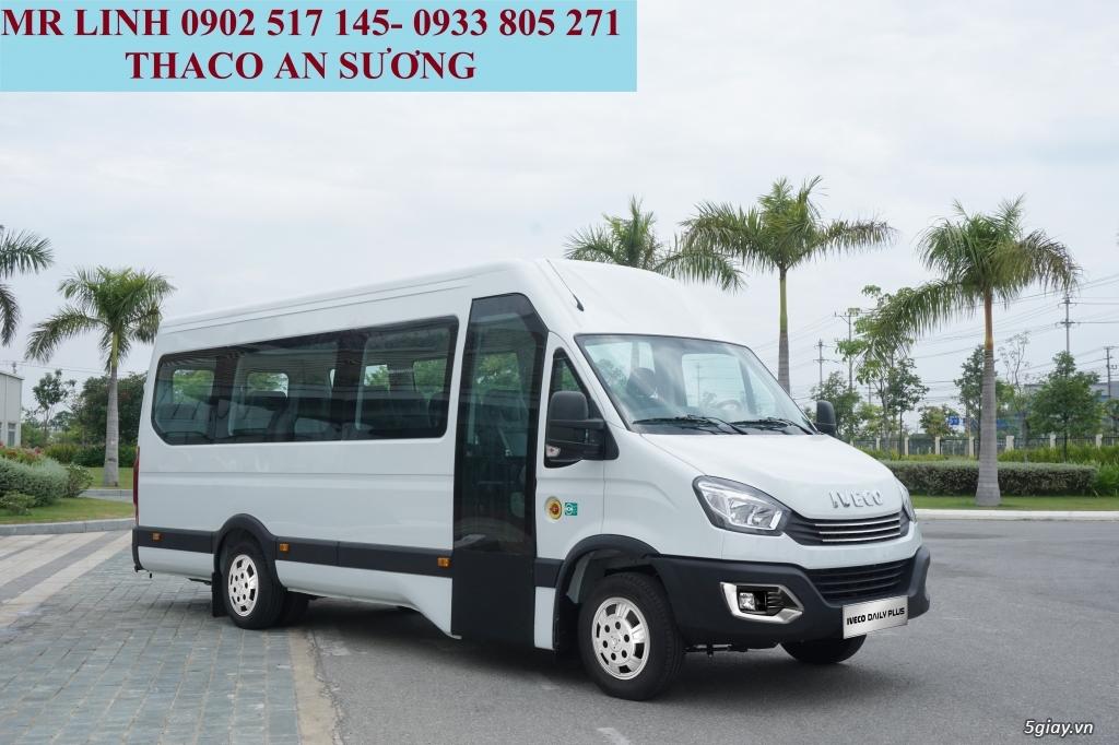Xe khách Iveco Daily 16 chổ và 19 chổ bầu hơi - 2