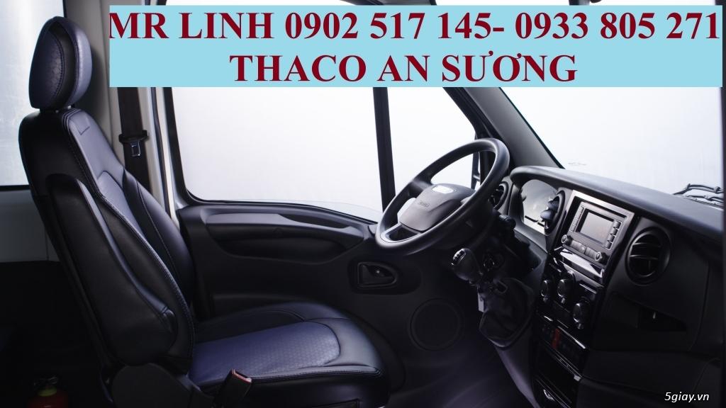 Xe khách Iveco Daily 16 chổ và 19 chổ bầu hơi - 4