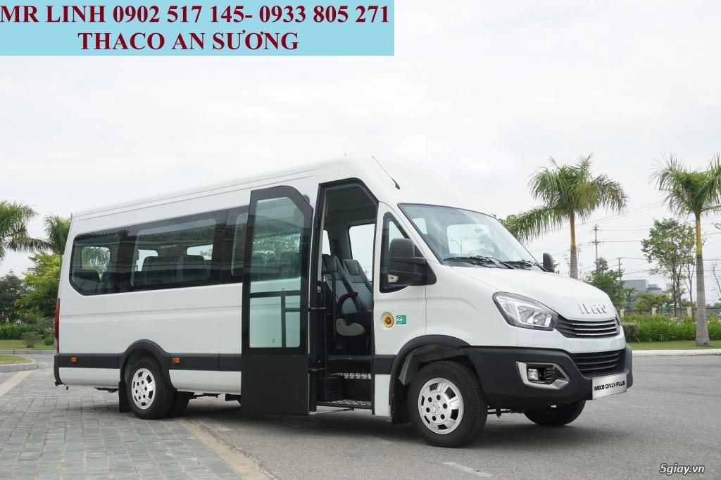 Xe khách Iveco Daily 16 chổ và 19 chổ bầu hơi - 1
