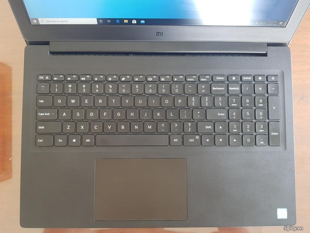 Laptop Vỏ Nhôm XiaomiMi, Core i5 8th, Ram 8GB, Màn IPS Full HD Mới 99% - 1