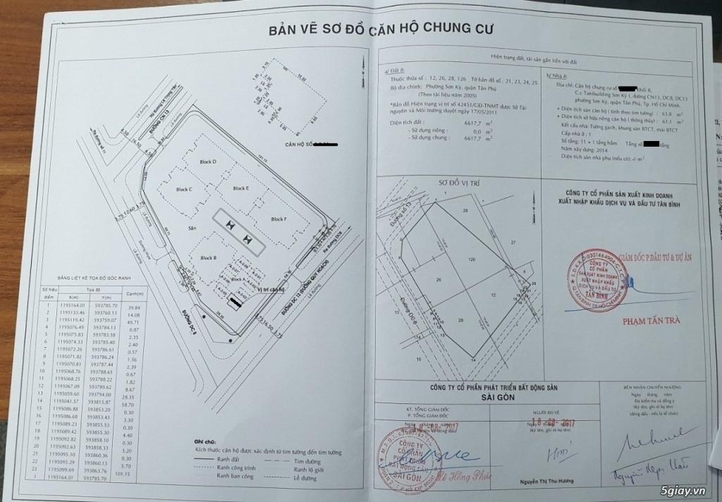 Bán Căn Hộ/ Chung Cư 2PN - SƠN KỲ 1, khu vực Aeon Tân Phú - 11