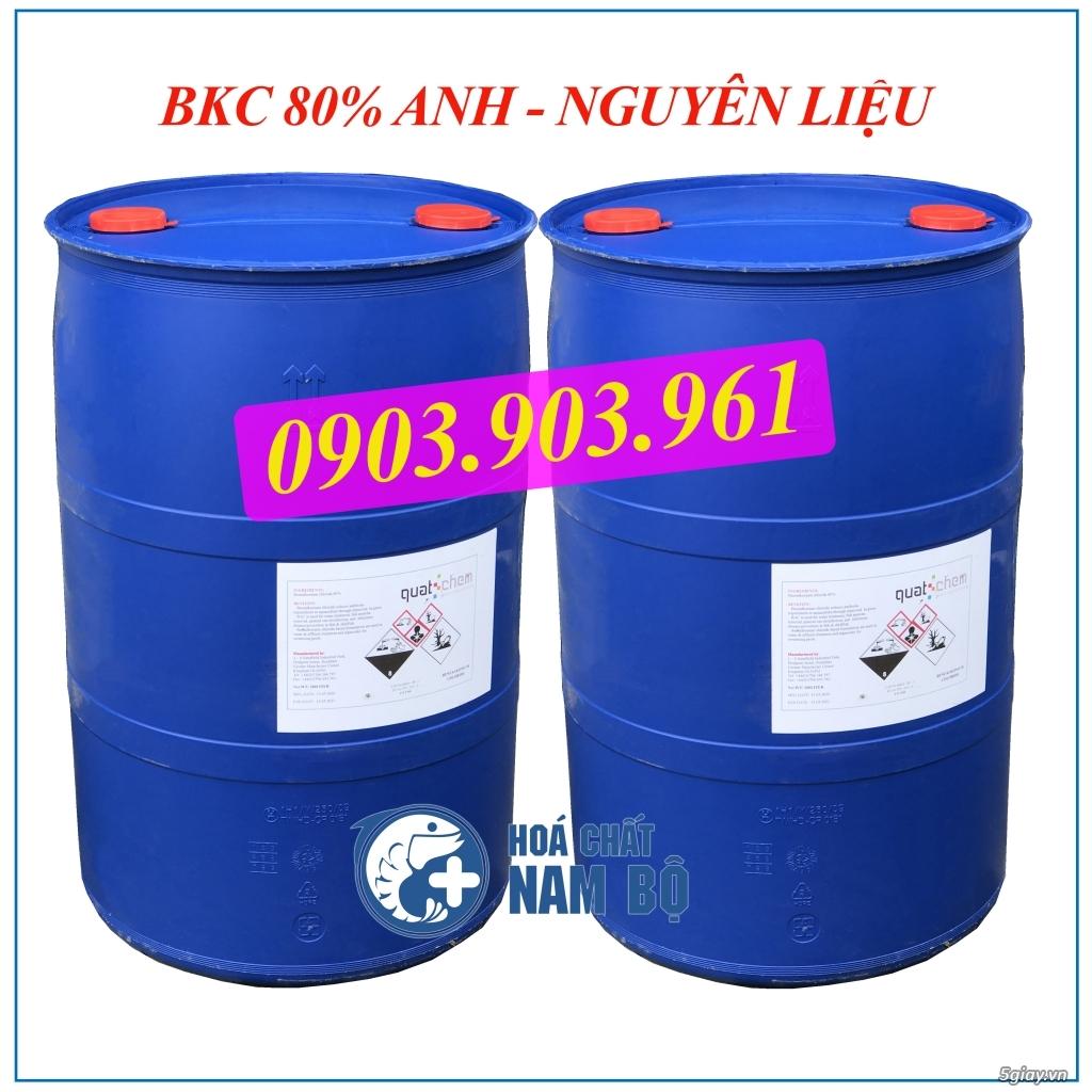 Bán DUNG DỊCH BKC 80% ANH Nguyên Liệu diệt khuẩn ao nuôi thủy sản