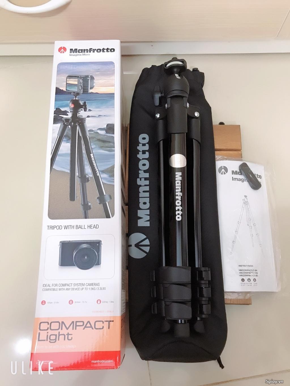 ❤Thanh lý Chân máy ảnh Manfrotto Compact Light(Đen)❤️ - 2