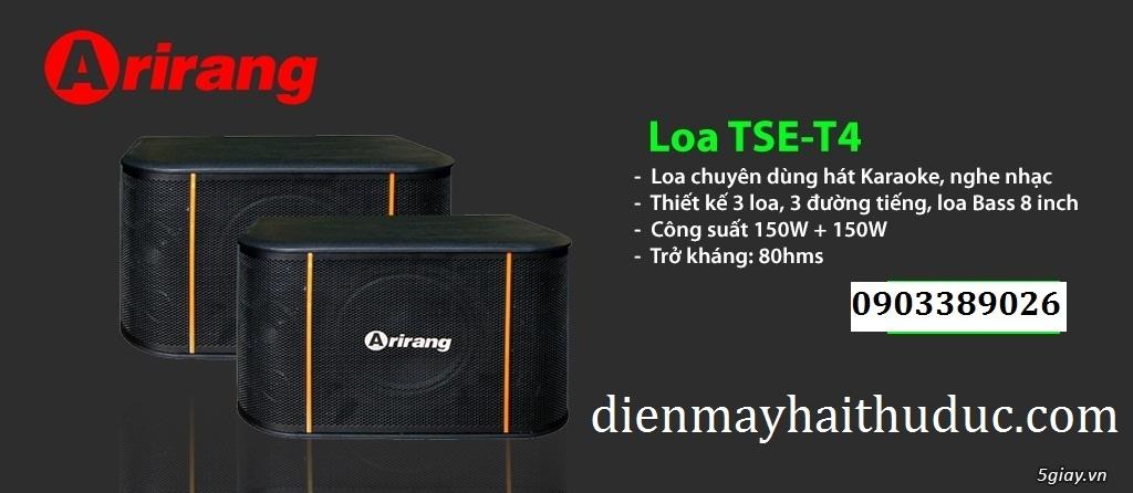 Loa Arirang TSE-T4 hàng tầm trung giá rẻ của hãng maseco