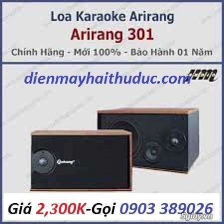 Loa Arirang 301 Model nhỏ gọn của hãng Maseco Arirang VN