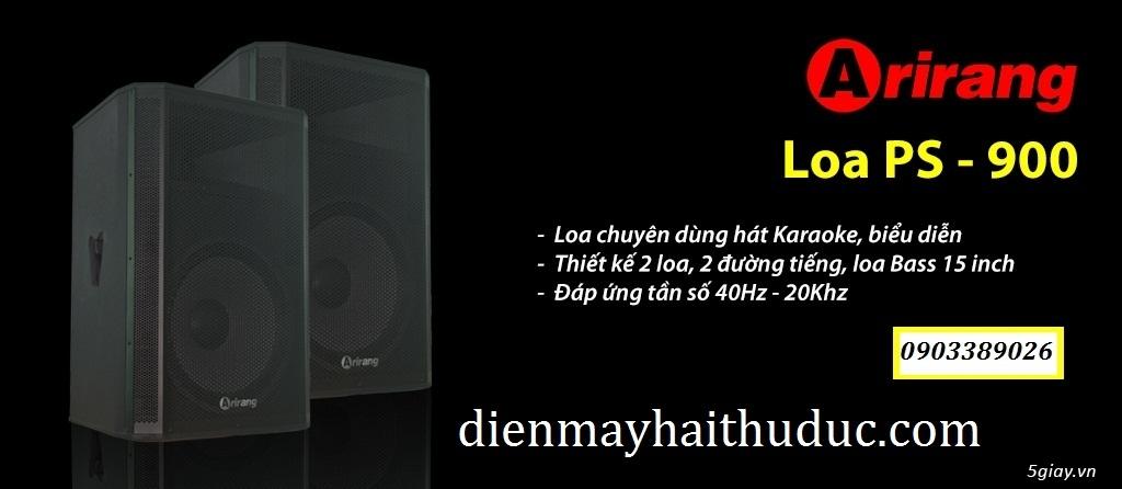 Loa Arirang PS-900 công suất đến 900W, chuyên dành cho sân khấu
