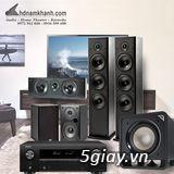 Bộ xem phim Amply Denon X550BT + Bộ 5.1 Polk Audio T50 Chất lượng - 6
