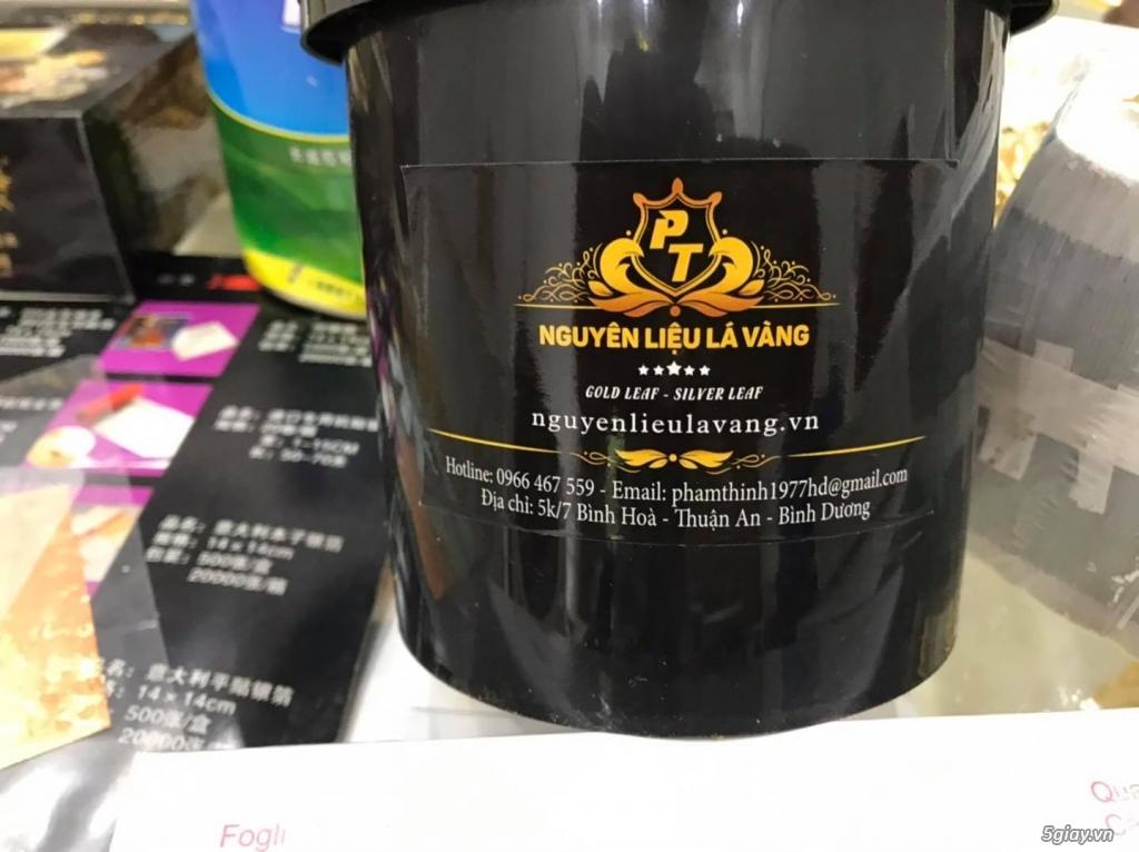 Nhà phân phối nguyên liệu dát vàng trên toàn quốc Lh :0966467559 Thinh