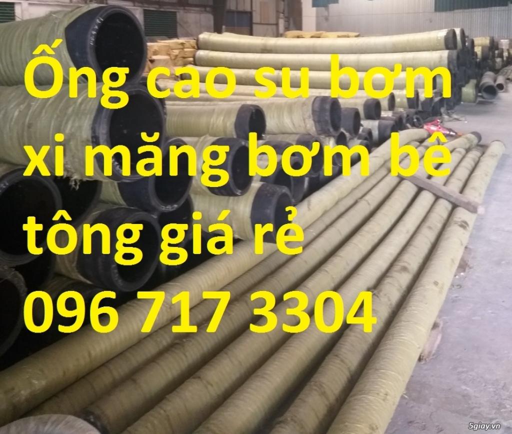 Ống cao su bơm bê tông CAQ phi 114 chất lượng cao  - 0914 143 288
