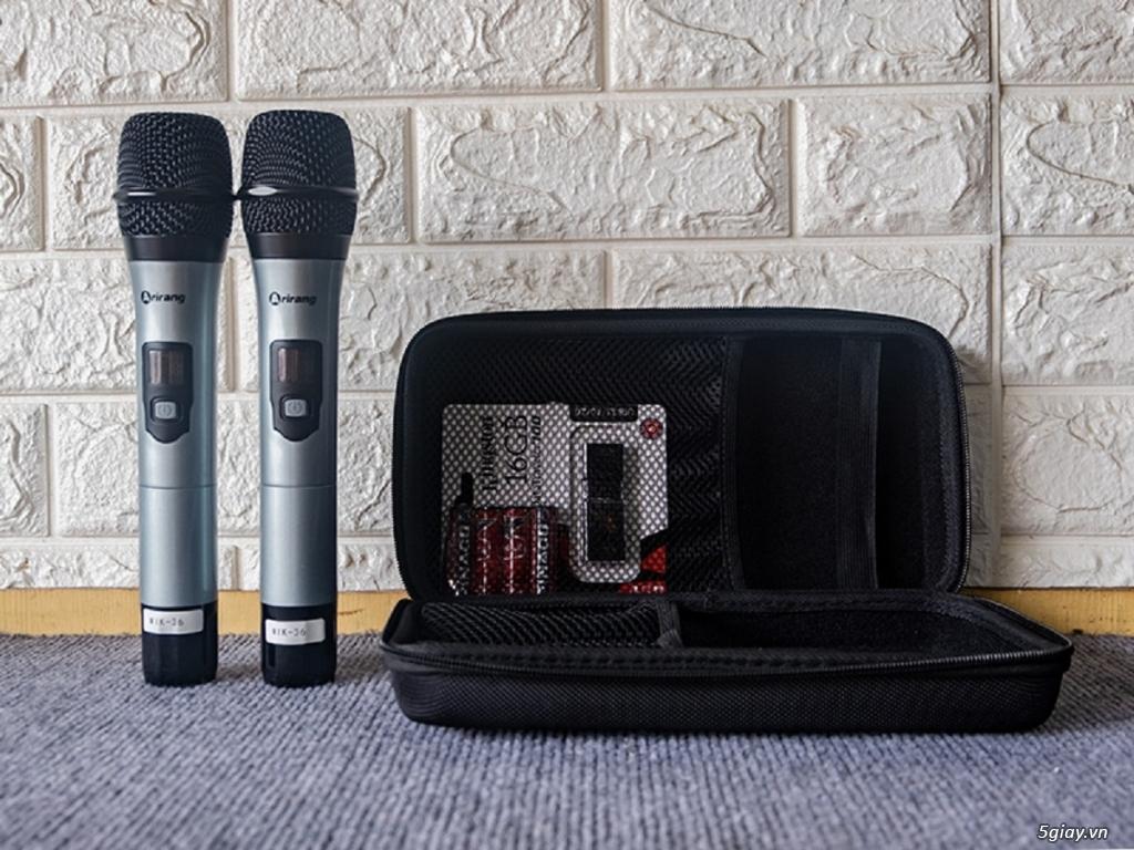 Loa kéo Arirang MIK-36 tích hợp 12.200 bài Karaoke bản quyền - 5