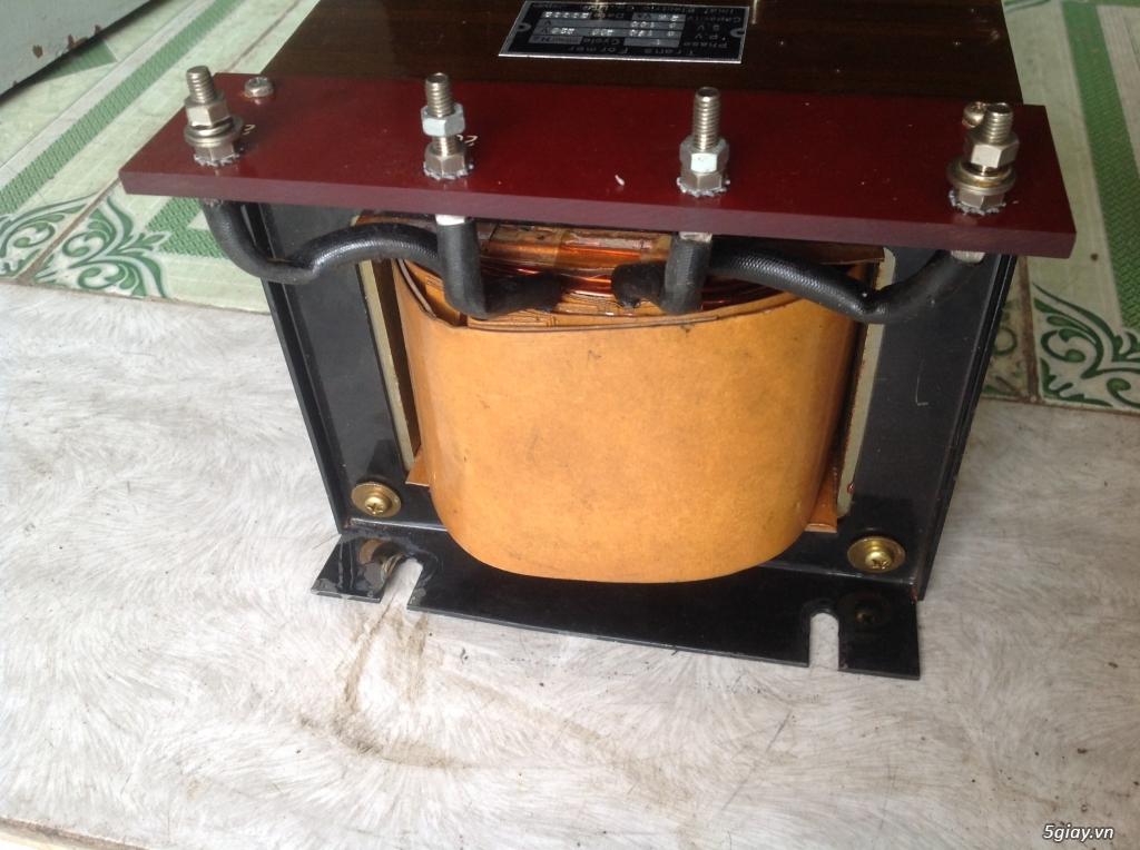 Biến áp cách ly Nhật 500VA -10KVA, lọc nguồn âm thanh..... - 1