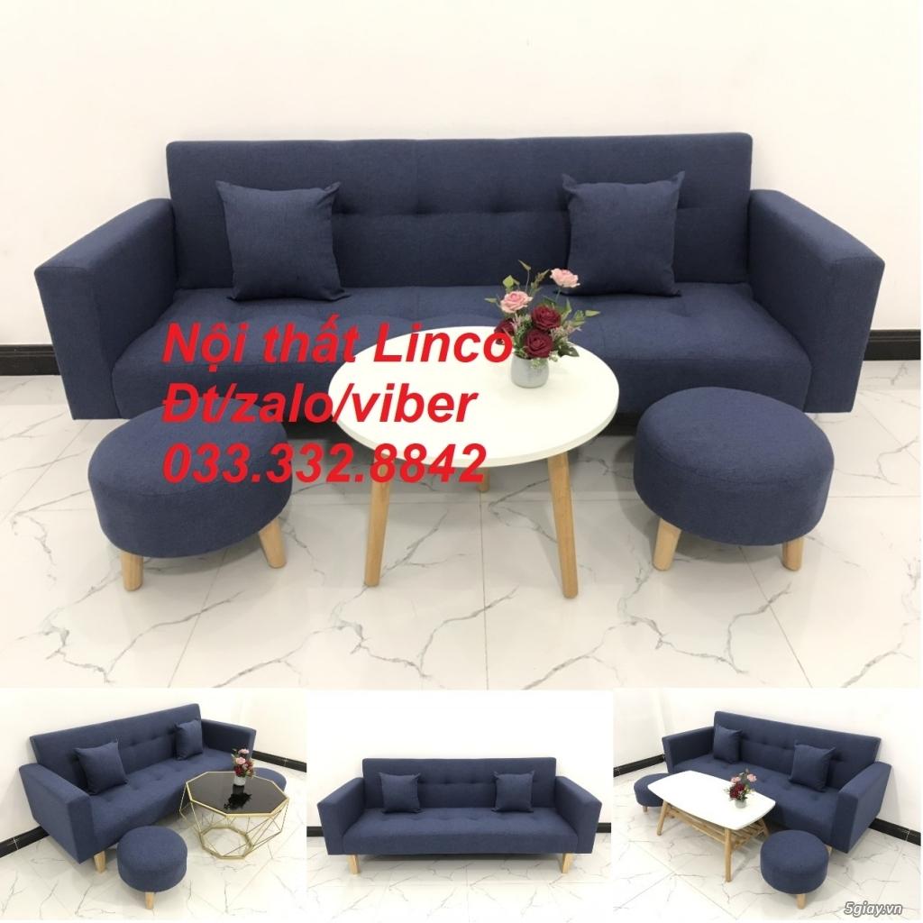 Bộ sofa bed sofa giường tay vịn phòng khách giá rẻ Nội thất Linco HCM - 7