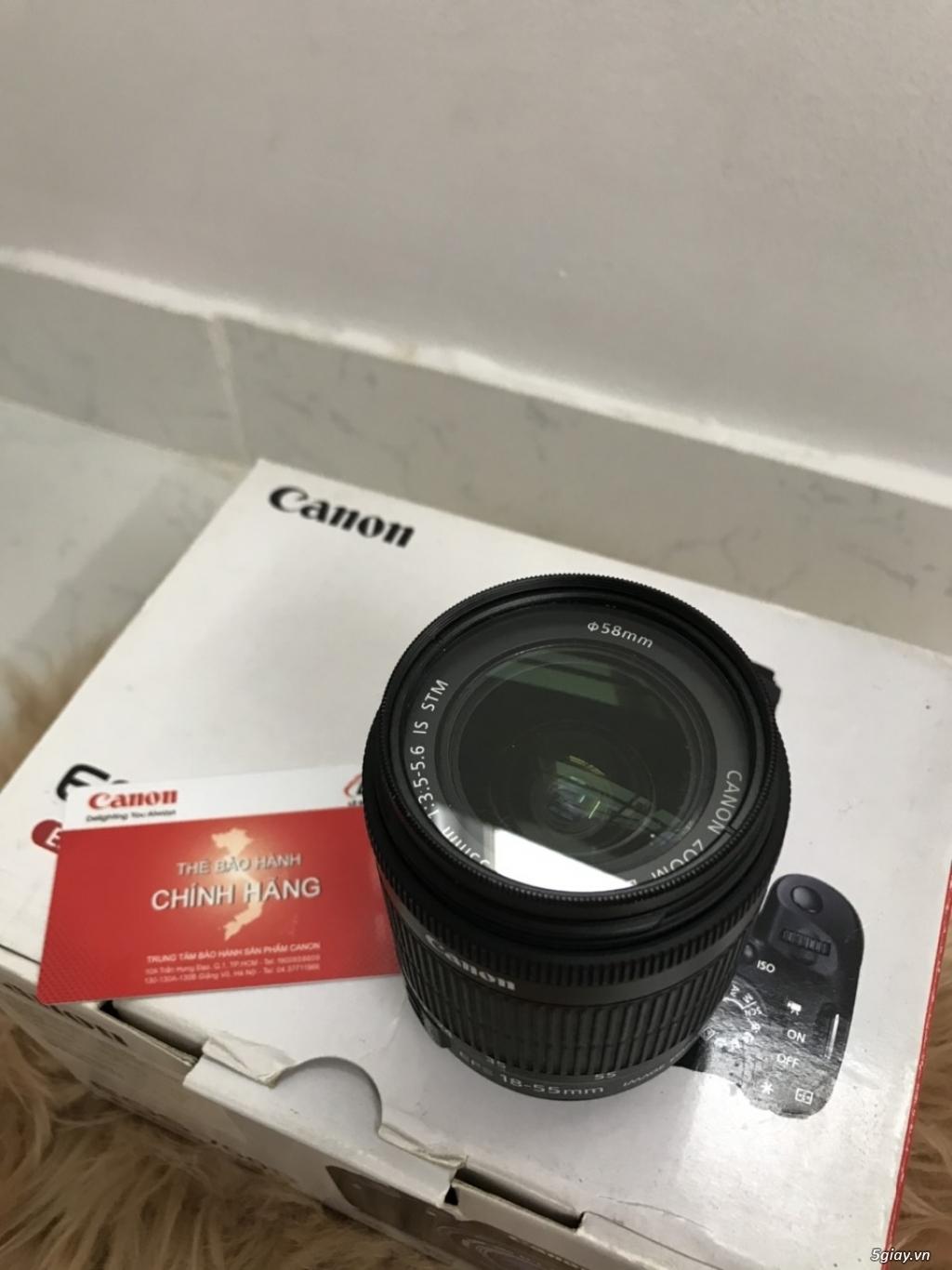 Cần bán Canon 700D + Lens kit 18-55 STM + Lens Tamron 24-135, full box - 4