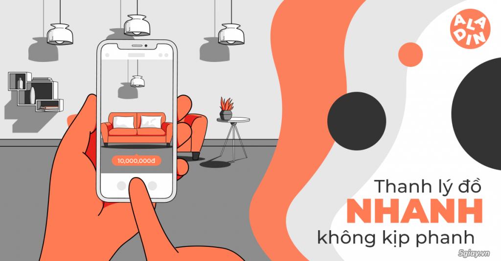 Aladin – App mua bán đồ cũ dành cho người Việt