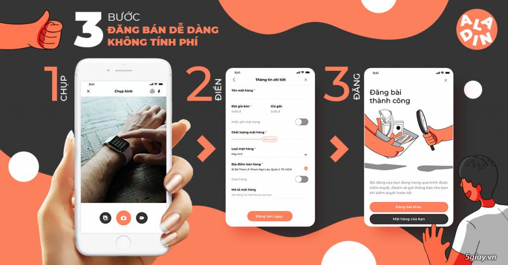 Aladin – App mua bán đồ cũ dành cho người Việt - 1