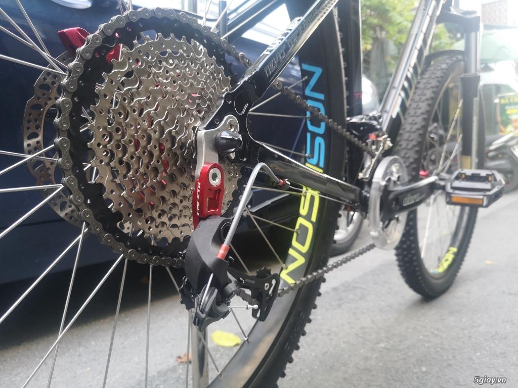 xe đạp địa hình MTB Twitter phuộc hơi 27.5 - Group 10 thắng đĩa dầu