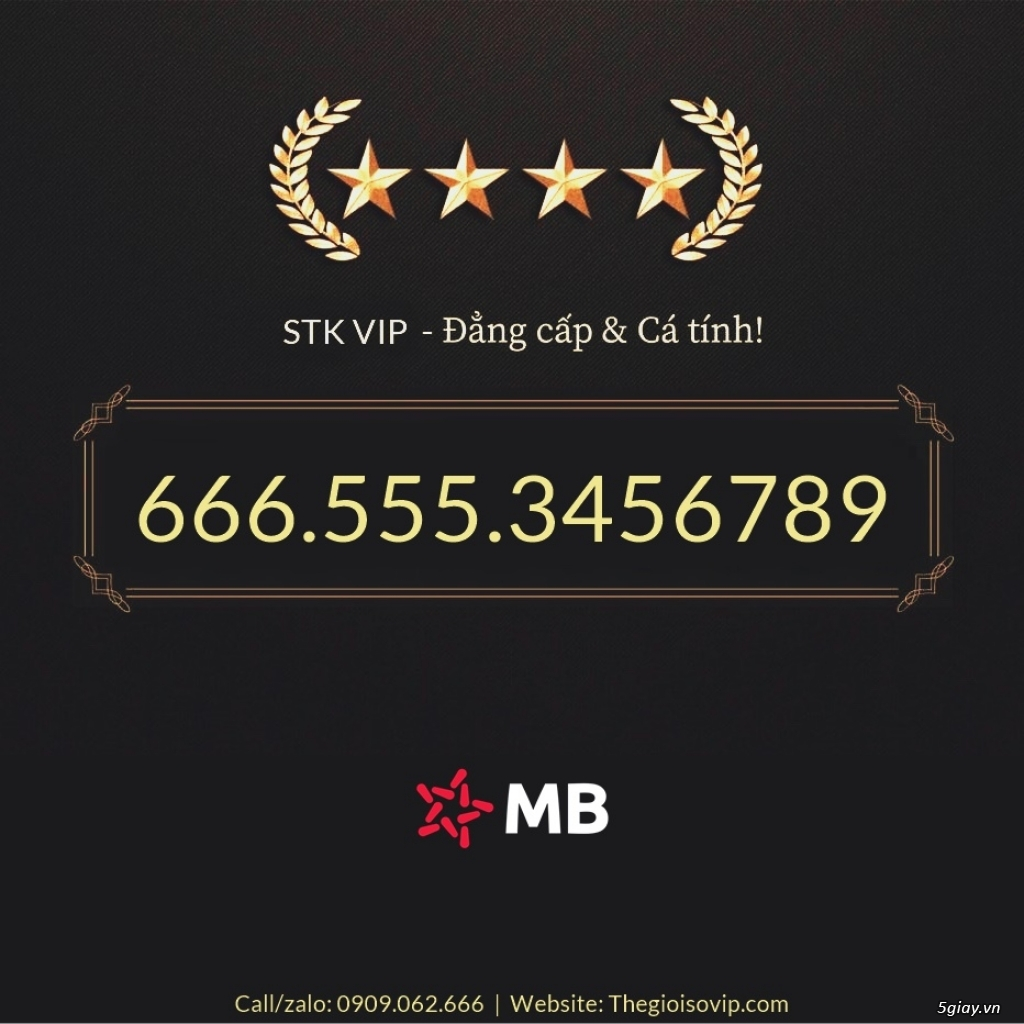 Tài khoản ngân hàng số đẹp vip mbbank ngân hàng quân đội - 33