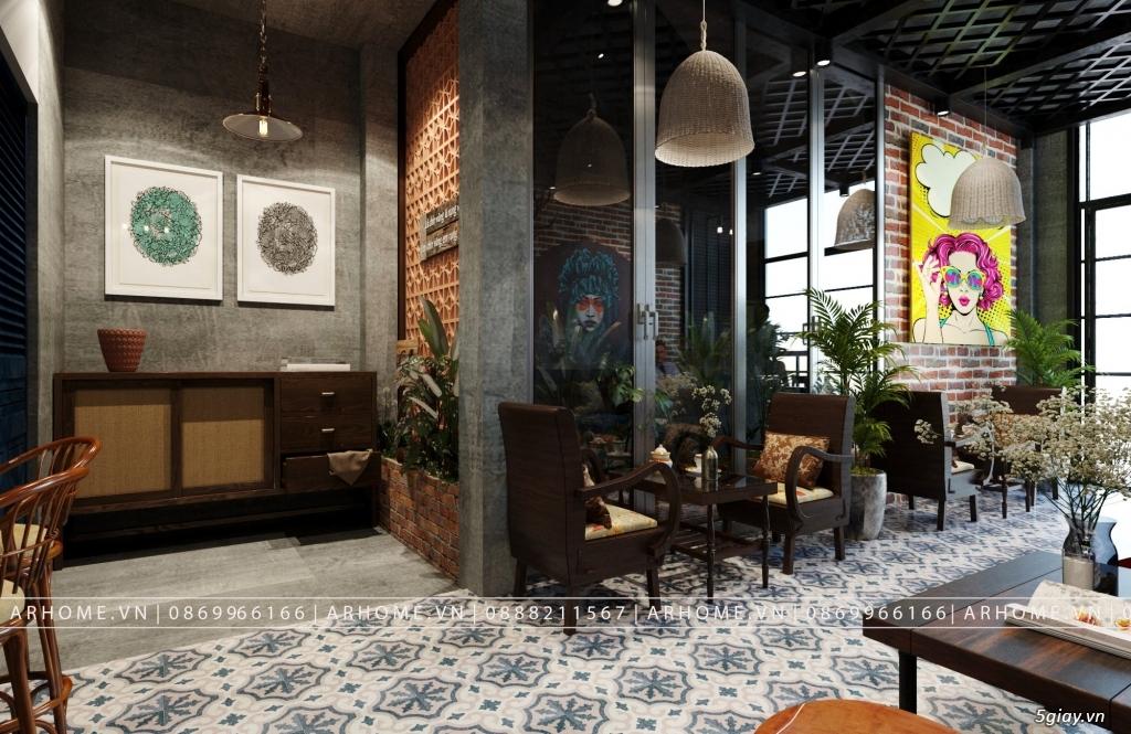 Lắng đọng thời gian với thiết kế nội thất quán Cafe phong cách Hoài cổ - 4