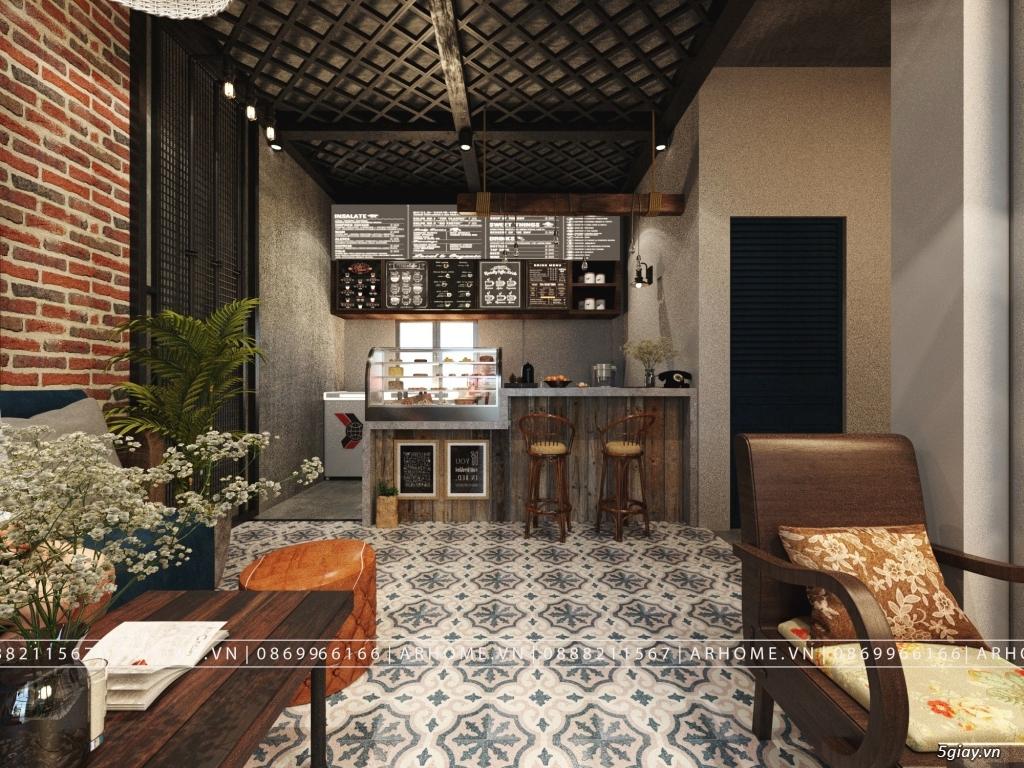 Lắng đọng thời gian với thiết kế nội thất quán Cafe phong cách Hoài cổ - 5