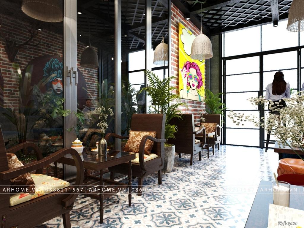 Lắng đọng thời gian với thiết kế nội thất quán Cafe phong cách Hoài cổ - 2