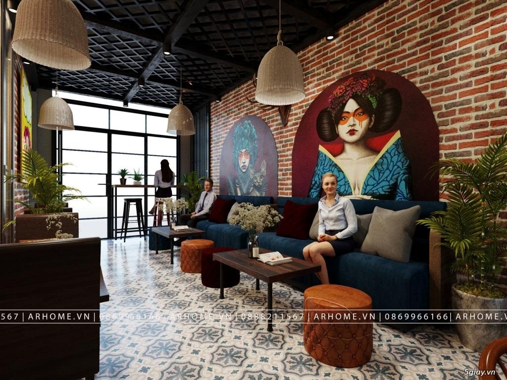 Lắng đọng thời gian với thiết kế nội thất quán Cafe phong cách Hoài cổ - 1