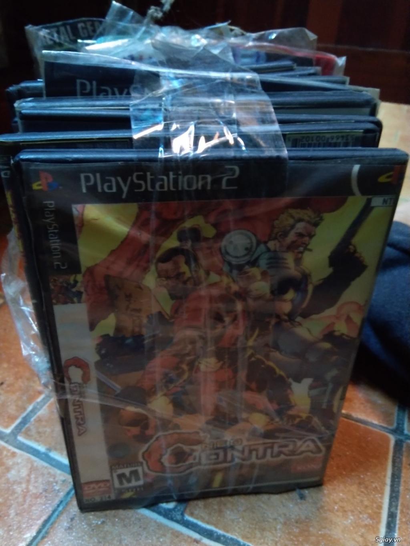 Cần bán 30 đĩa game ps2 cũ còn chơi tốt - 1