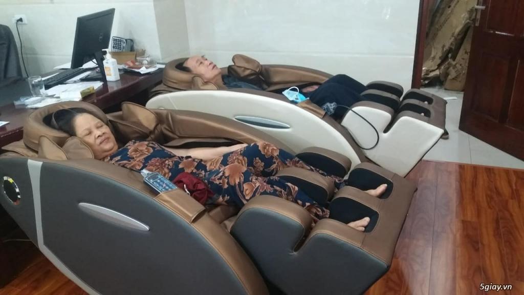 Ghế Massage Toàn Thân Công Nghệ 4.0, Giảm Đau Nhức, Ngủ Ngon