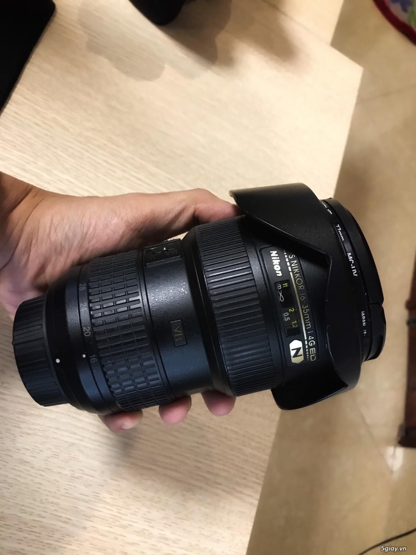 Mình cần bán: Lens AF-S Nikkor 16-35mm 1.4G ED - 11.5 tr - 3