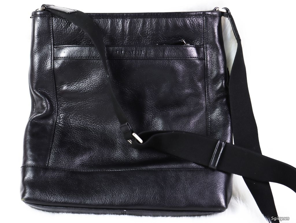 Túi đeo Chéo Nam COACH Black Made in italy Authentic