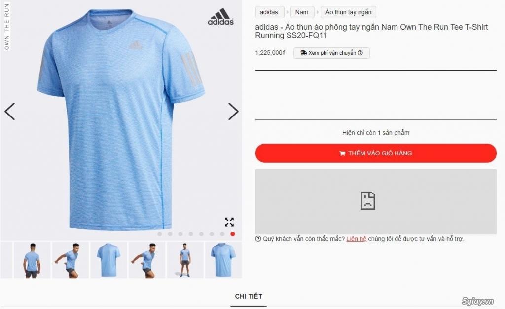 HN-TQ bán áo thể thao Adidas chính hãng new 100% full tem tag