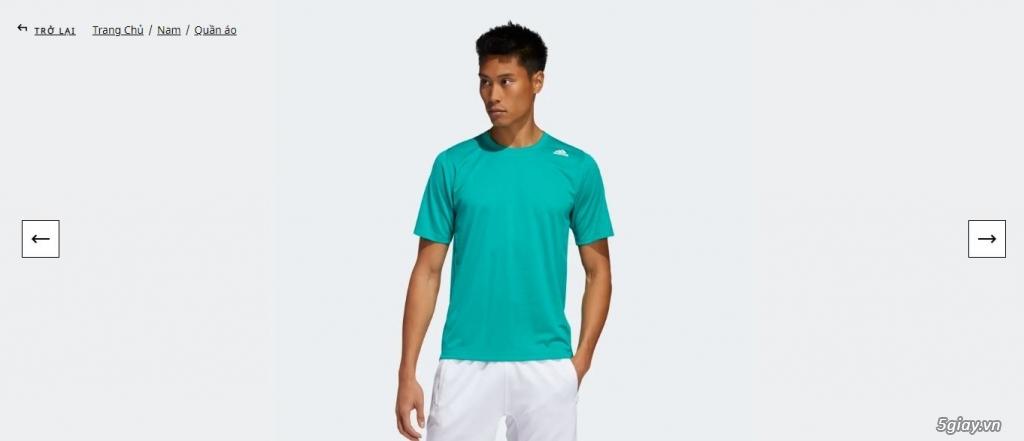 HN-TQ bán áo thể thao Adidas chính hãng new 100% full tem tag - 1