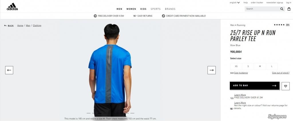 HN-TQ bán áo thể thao Adidas chính hãng new 100% full tem tag - 8