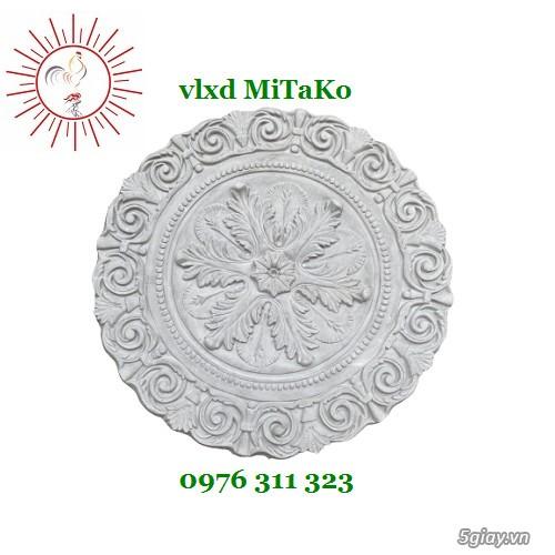 Bông trần hoa văn trang trí mặt tiền nhà cổ điển giá rẻ, chất lượng - 4